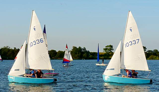 Heron Dinghies for Club Training